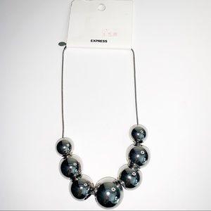 🤑4 for $20🤑 silver ExpressCollar necklace